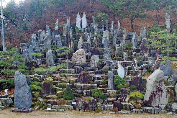 摄理月明洞_自然圣殿 _前山野心作_石头造景
