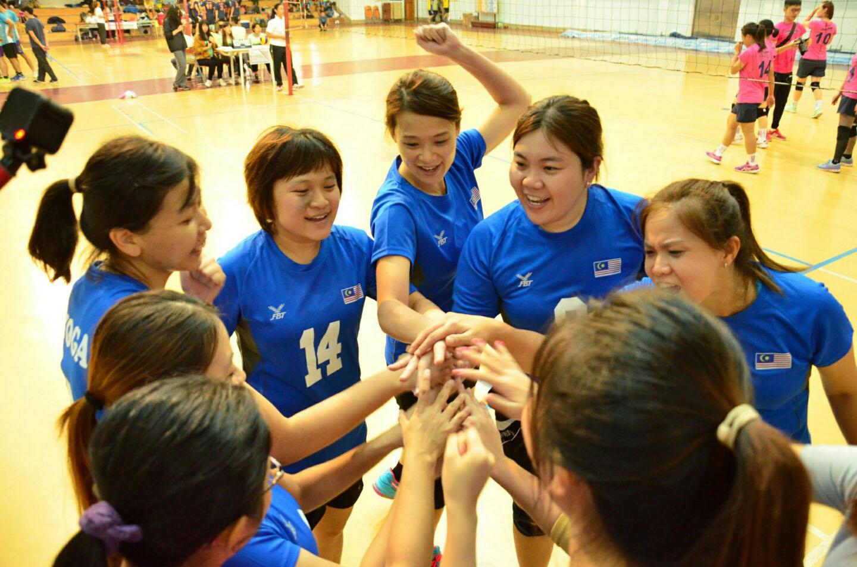 台湾TCGM全国排球联赛  林锦欣见证(女子B组冠军):「把主当成头」成获胜关键