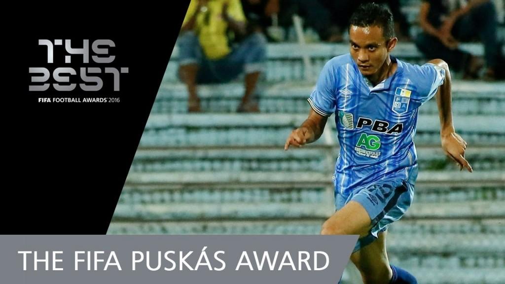 摄理新闻_法伊兹获得FIFA颁年度最佳进球奖