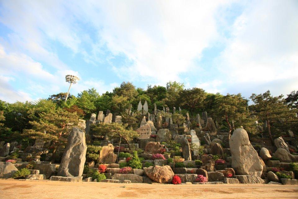 月明洞, 自然圣殿, 石头造景, 野心作, 风景照