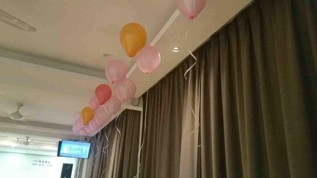 攝理教会PEPERO Party_场地布置洋溢浪漫气息