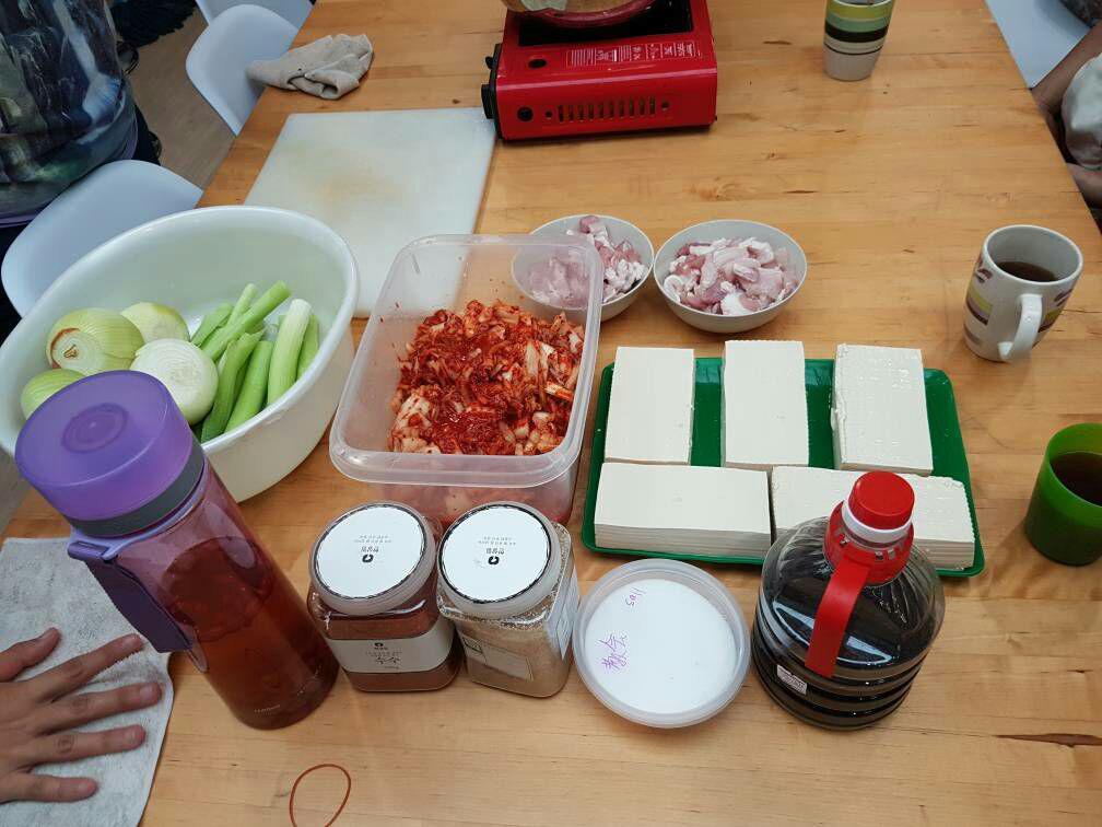 攝理韩式料理烹饪班血汗成果