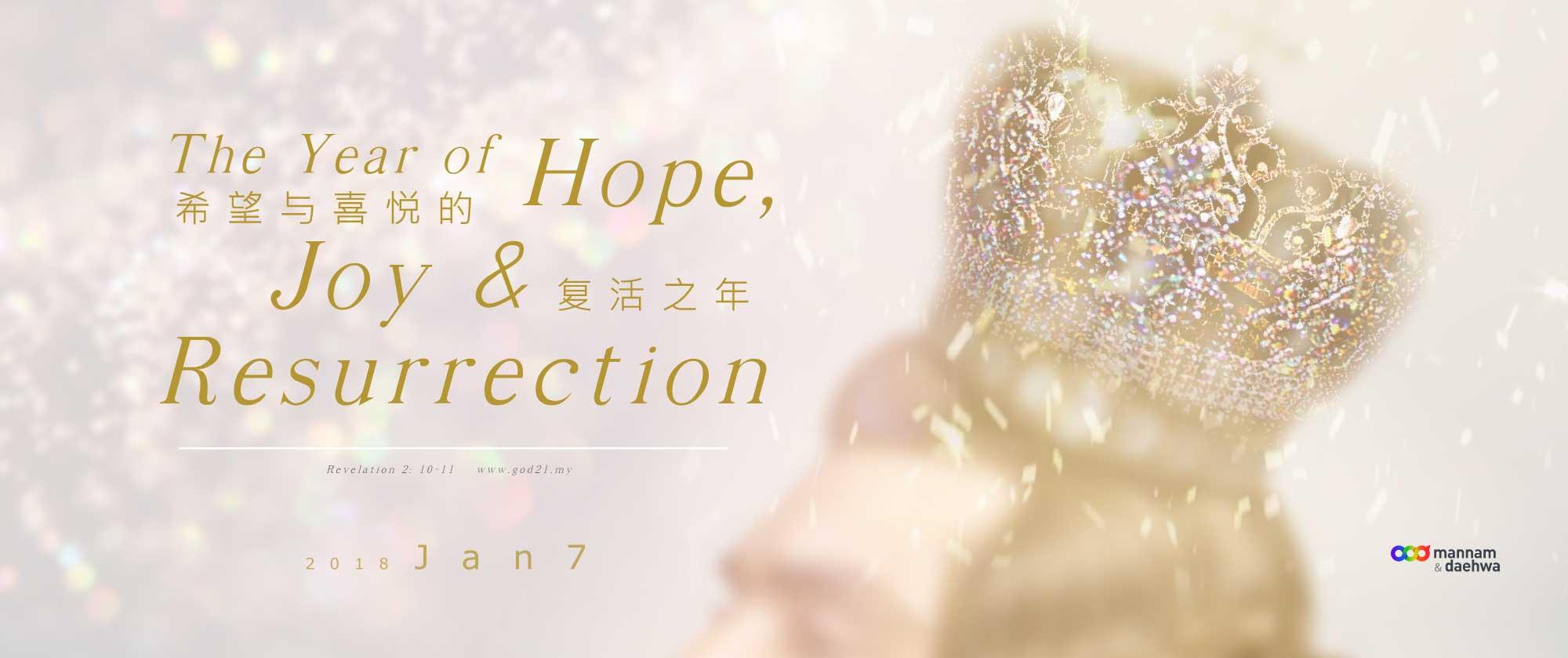 希望与喜悦的复活之年