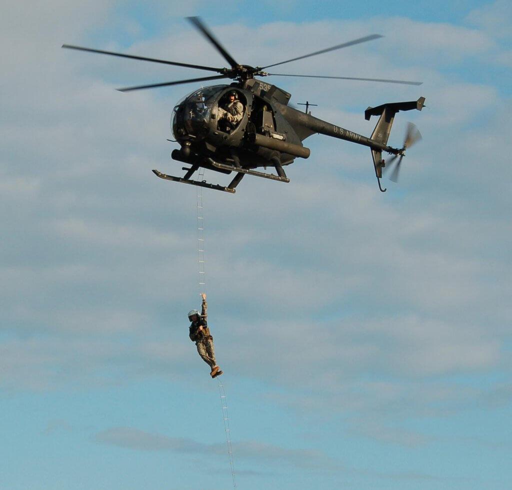 直升机机降训练3