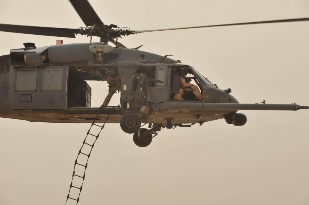 直升机训练
